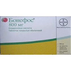 Tablete de 800 mg Bonefos