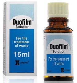 DUOFILM mg/ml + mg/ml SOL. CUT. — Lista Medicamentelor Mediately