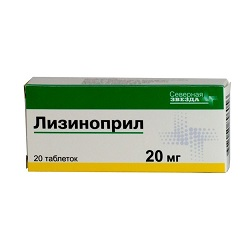 Lisinopril comprimate 20 mg