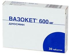 Tablete din vene de flebodie - Varicozitate
